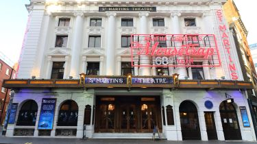 St Martins theatre, home of Agatha Christie's 'The Mousetrap'