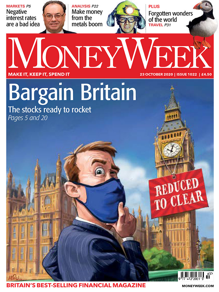 Cover of MoneyWeek magazine issue no 1022, Friday 23 October 2020