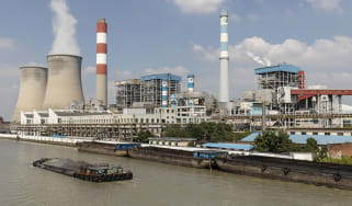 Coal-fired power plant in China