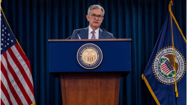 Jerome Powell © ERIC BARADAT/AFP via Getty Images