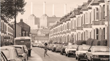 Battersea Power Station used to heat surrounding homes