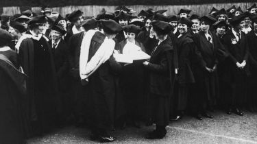 Female students at Oxford University in 1921 © Kirby/Topical Press Agency/Getty Images