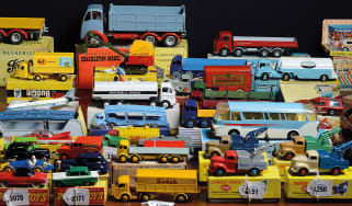 Dinky toys for auction © Nigel Roddis/Getty Images