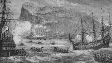 The taking of Gibraltar © Print Collector/Getty Images