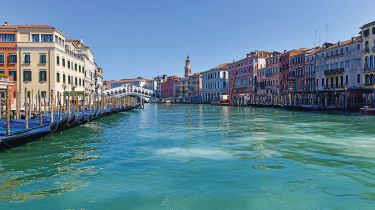 A deserted Grand Canal in Venice © ANDREA PATTARO/AFP via Getty Images