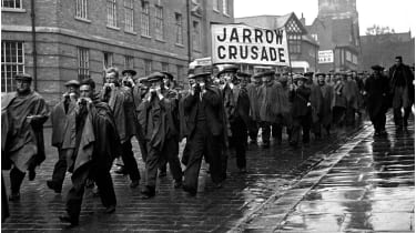 Jarrow Crusade marchers ©Popperfoto via Getty Images/Getty Images