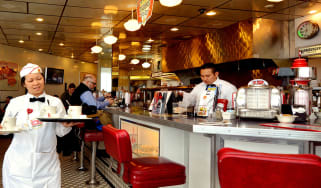 An American diner