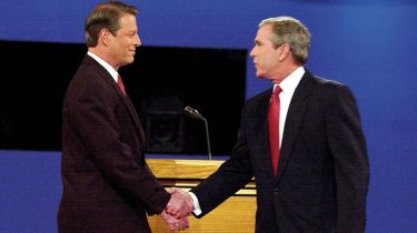Al Gore and George W Bush