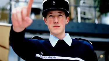 A young gendarme