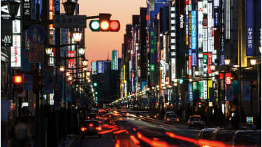 Japan: surprisingly high yields © Alamy
