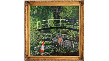 Banksy's Show me the Monet © Sotheby's