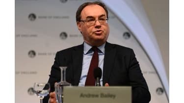 Andrew Bailey takes over as governor of the Bank of England in March.