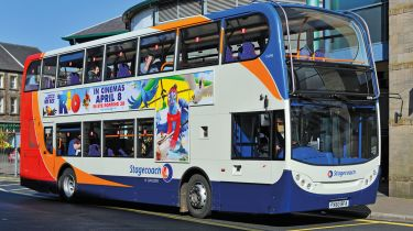 Stagecoach is among several firms to have slashed their dividends this week © Alamy