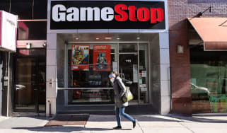 A GameStop shop