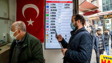 Currency exchange in Istanbul