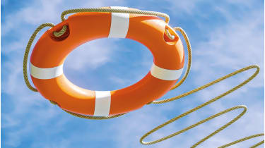Orange lifebuoy © Getty Images/iStockphoto
