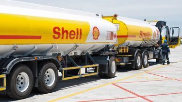 Shell oil tanker © Shell oil tanker © Shell International Ltd