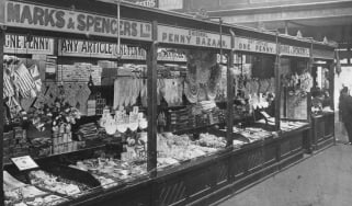 Marks & Spencer's market stall © Jewish Chronicle/Heritage Images/Getty Images