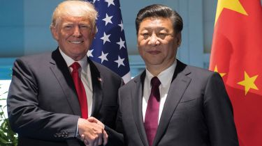 Donald Trump and Xi Jinping © SAUL LOEB/AFP via Getty Images