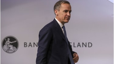 Mark Carney: leaving with no fireworks