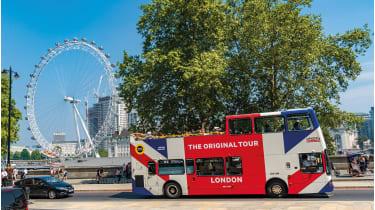 London sightseeing bus © Getty Images