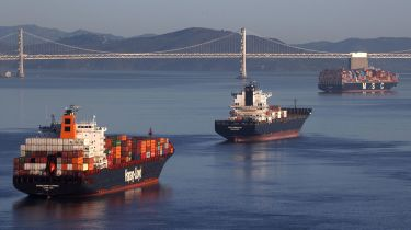 Ships in San Francisco Bay