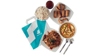 Deliveroo food