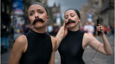 Edinburgh Fringe hopefuls © Christopher Furlong/Getty Images