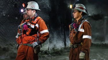Copper miners