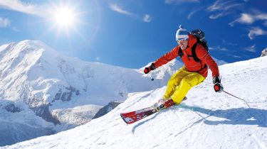 Downhill skier © Getty Images/iStockphoto