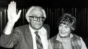 Michael Foot and wife Jill