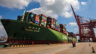 Chinese exports fell to a three-year low last year