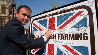 Minister for Agriculture George Eustice