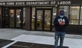 New York State Department of Labor © Stephanie Keith/Getty Images