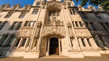 Supreme Court building, London © Alamy