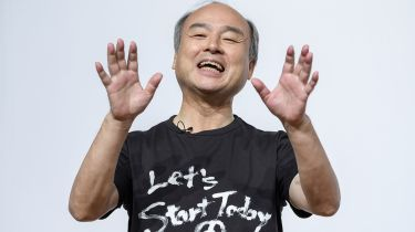 Masayoshi Son © Akio Kon/Bloomberg via Getty Images
