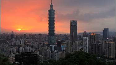 View of Taipei © DANIEL SHIH/AFP via Getty Images