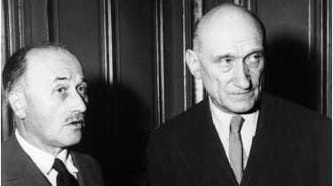 Jean Monnet and Robert Schuman © Keystone-France/Gamma-Rapho via Getty Images