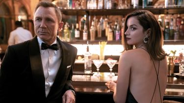 Daniel Craig and Ana de Armas in No Time To Die