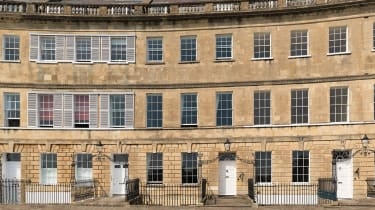 Lansdown Crescent, Bath, Somerset