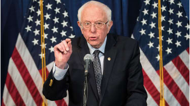 Bernie Sanders, whose campaign is faltering, had been gunning for the health sector © Getty Images