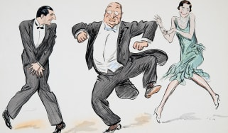 1920s cartoon of people dancing