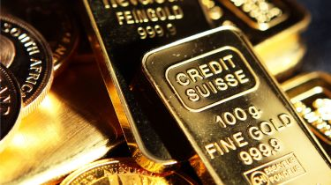 Gold bars and coins © Chris Ratcliffe/Bloomberg via Getty Images