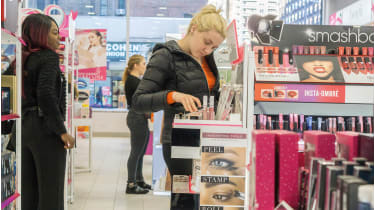 Ulta Beauty shop © Alamy