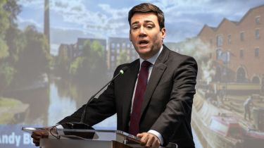 Andy Burnham, mayor of Greater Manchester, is an HS2 booster